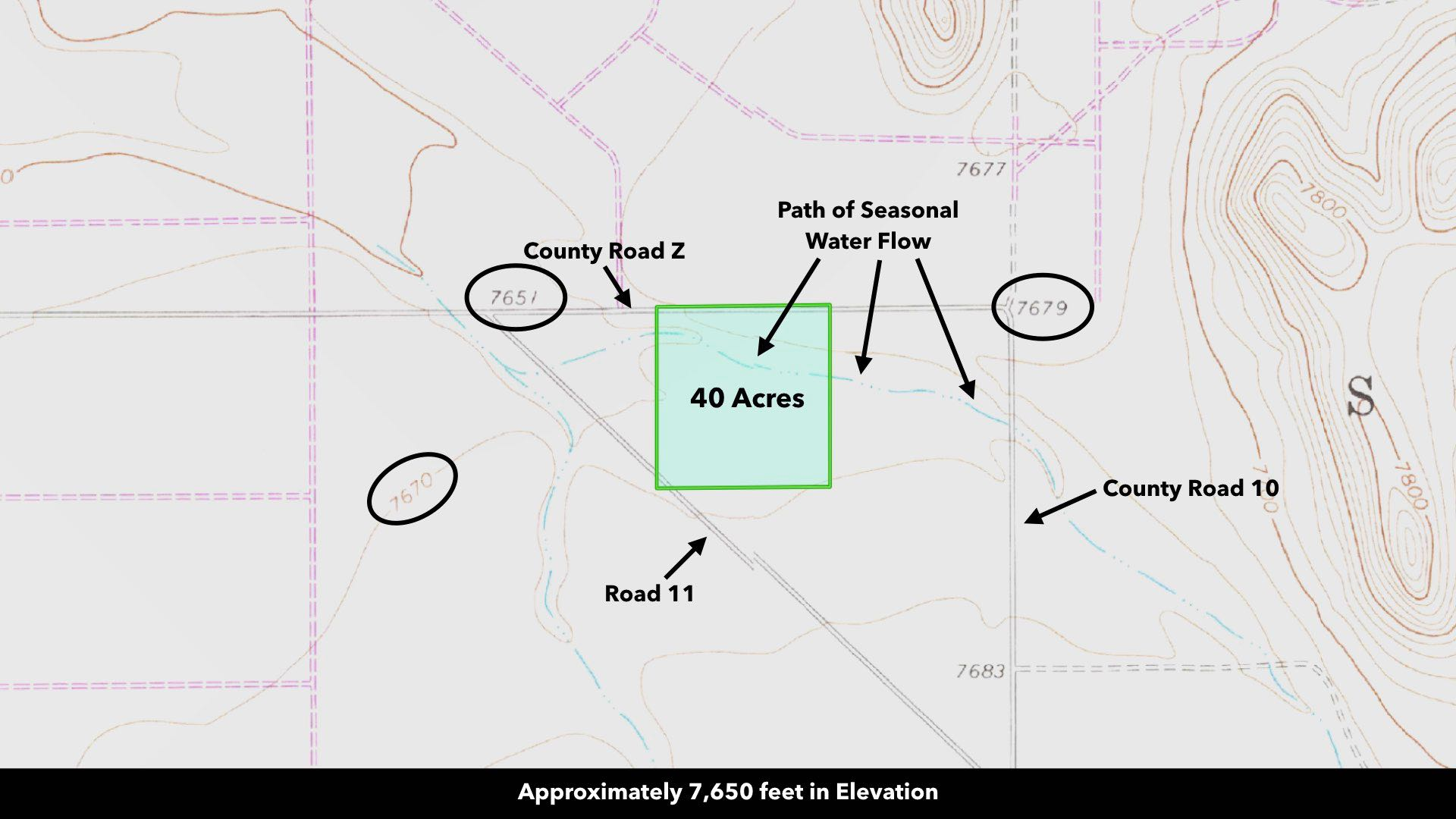 San Luis Valley Ranch Land For Sale