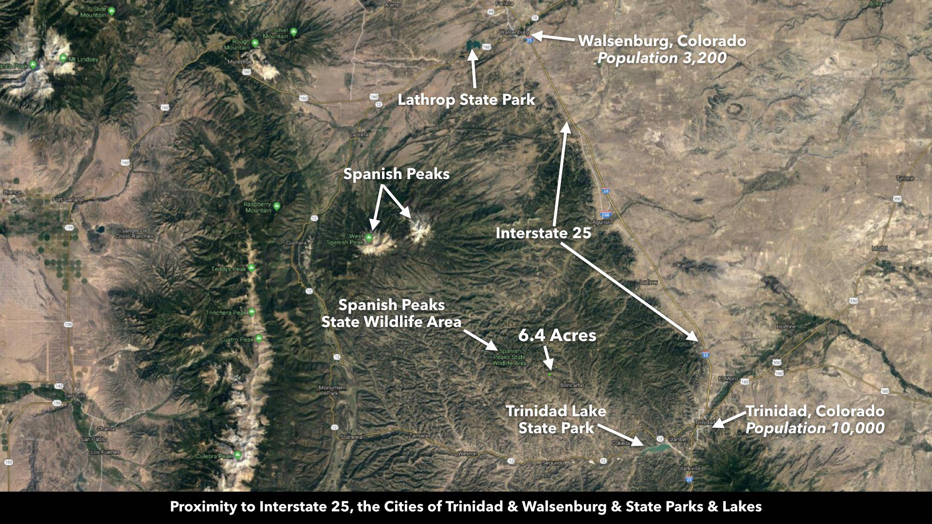 Aguilar Colorado Map.Under Contract Sold 40 Acre Mountain Homesite With World Class